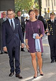 Prinzessin Victoria bedankt sich für Baby-Glückwünsche (Bild: AP)