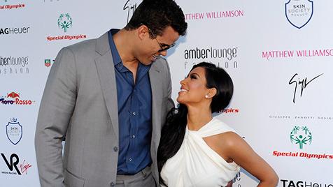 Starlet Kim Kardashian ist wieder verheiratet (Bild: EPA)
