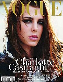 """Charlotte Casiraghi zeigt ihr Talent als Model in """"Vogue"""" (Bild: Vouge)"""