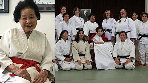 98-Jährige erhält als erste Frau höchsten Judo-Titel (Bild: Flying Carp Productions)