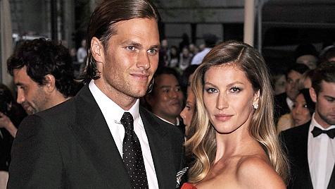 Bestverdienendes Promi-Paar: Brady und Bündchen (Bild: EPA)