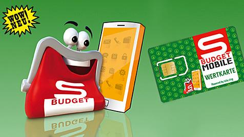 Spar bringt mit Telering Mobilfunk-Wertkarte (Bild: s-budget-mobile.at)