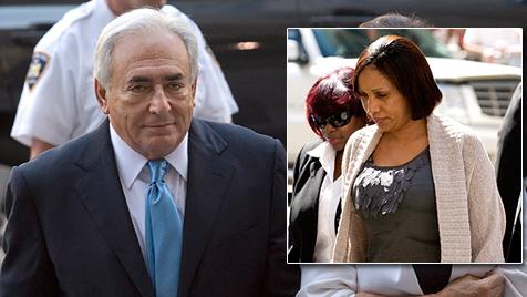 US-Richter stellt Verfahren gegen Strauss-Kahn ein (Bild: EPA)