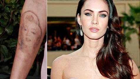 "Fox: ""Mein Monroe-Tattoo bringt mir negative Energie"" (Bild: AP EPA)"