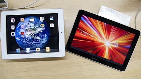 Patentstreit: Samsung verklagt Apple in Australien (Bild: EPA)