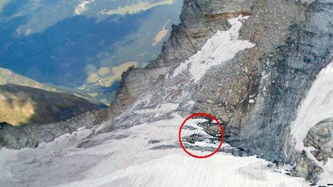Ein Toter und zwei Verletzte bei Sturz in Gletscherspalte (Bild: APA/ÖAMTC)