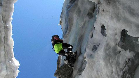 Ein Toter und zwei Verletzte bei Sturz in Gletscherspalte (Bild: APA/POLIZEI)