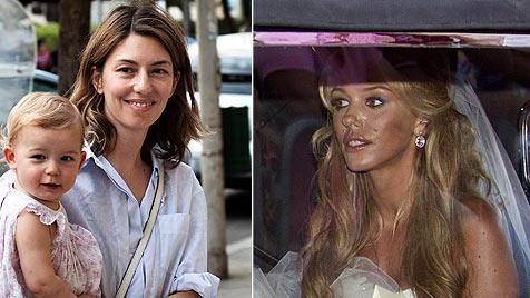 """Italien """"in Weiß"""" - Ecclestone und Coppola sagten Ja (Bild: AFP/EPA)"""