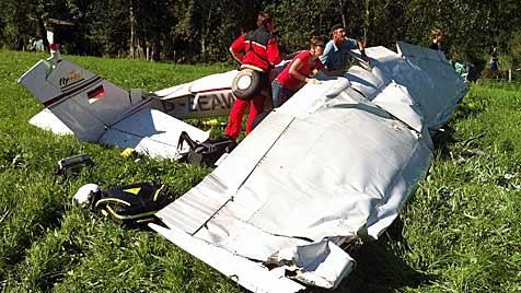 Nach Flugunfall in Sbg: Offenbar kein technischer Defekt (Bild: APA/ÖAMTC)