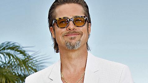 Brad Pitt rettet während Dreh Statistin das Leben (Bild: EPA)