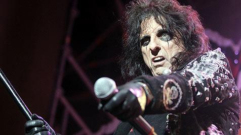 """""""Rock-Monster"""" Alice Cooper im Anflug auf Österreich (Bild: APA/Georg Hochmuth)"""