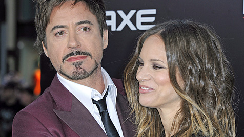 Robert Downey Jr. und seine Frau erwarten Baby (Bild: EPA)