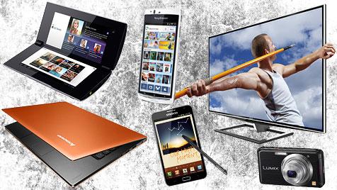 Die spannendsten Technik-Produkte und -Trends der IFA (Bild: Sony, Sony Ericsson, Toshiba, Lenovo, Samsung, Panasonic)