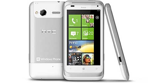 """Erste Handys mit Windows Phone 7 """"Mango"""" von HTC (Bild: HTC)"""