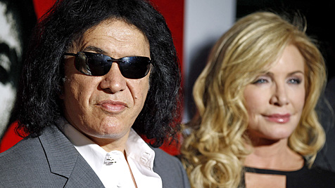 Gene Simmons hat Freundin Shannon Tweed geheiratet (Bild: AP)