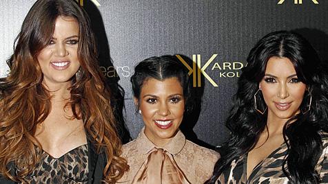 Kim will gleichzeitig mit Schwestern schwanger werden (Bild: AP)