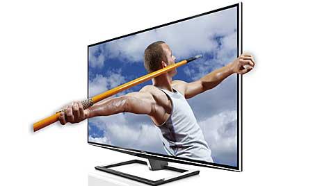 Toshiba präsentiert 3D-TV ohne Brille für mehrere Nutzer (Bild: Toshiba)