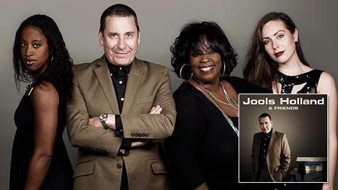 Viele Gast-Stars spielen auf neuer Jools-Holland-CD (Bild: Warner Music)