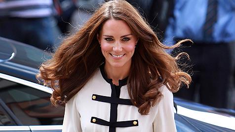 Palast: Catherine ist mit gar keinem Kind schwanger (Bild: AP)