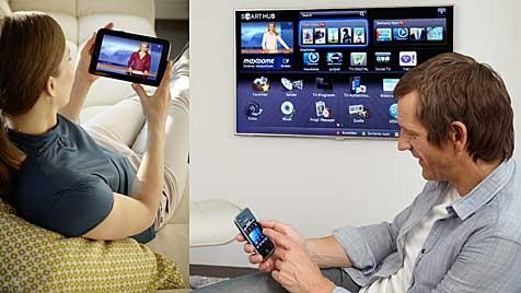 Verknüpft, sozial, intensiv: So werden wir 2020 fernsehen (Bild: Samsung)