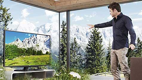 Verknüpft, sozial, intensiv: So werden wir 2020 fernsehen (Bild: Toshiba)
