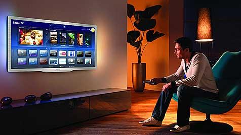 Verknüpft, sozial, intensiv: So werden wir 2020 fernsehen (Bild: Philips)