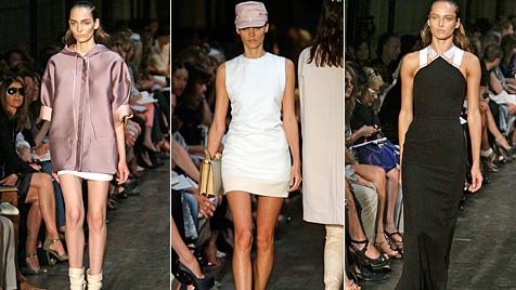 Victoria präsentiert sportliche Kollektion auf Fashion Week (Bild: AP)