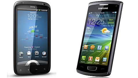 Samsung und HTC wollen offenbar weg von Android (Bild: HTC/Samsung)