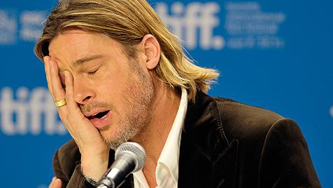 """Brad Pitt bedauert Worte: """"Jen war nicht langweilig"""" (Bild: EPA)"""