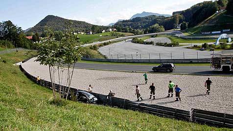 Ein Toter bei Trainingscrash am Salzburgring (Bild: Markus Tschepp)