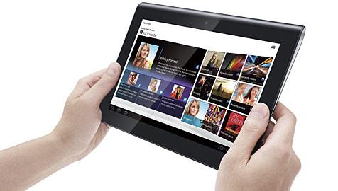 Richtungsweisend: Sonys Tablet S bereits 20% billiger (Bild: Sony)