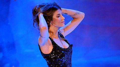 """Elisabetta Canalis blamiert sich bei US-""""Dancing Stars"""" (Bild: AP)"""