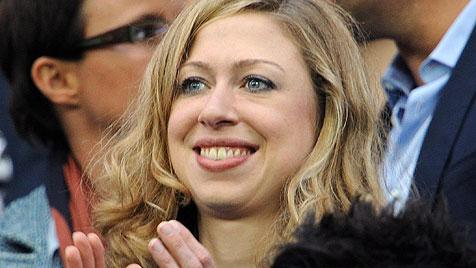 """Chelsea Clinton erhält 8.000 """"Likes"""" in nur 24 Stunden (Bild: AP)"""