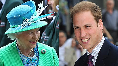 """Prinz William über die Queen: """"Oma ist unglaublich"""" (Bild: EPA)"""