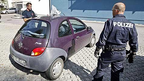 Erpresser-Duo bei Cobra-Einsatz verhaftet (Bild: Markus Tschepp)