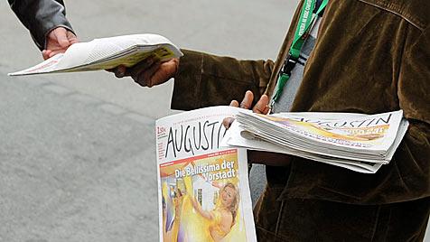 """""""Augustin"""" gefälscht und in NÖ verkauft: 5 Slowaken gefasst (Bild: APA/HELMUT FOHRINGER)"""