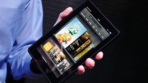 Amazon verkauft eine Million Kindle-Geräte pro Woche (Bild: AP)