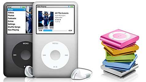 Apple will angeblich iPod Classic und Shuffle begraben (Bild: Apple)