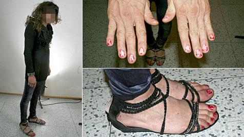 "Bankräuber flüchtet als ""Frau"" getarnt - trotzdem gefasst (Bild: Polizei Brünn)"