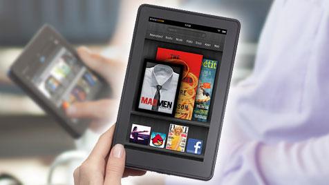 Kindle Fire soll dank Werbung noch günstiger werden (Bild: amazon.com)