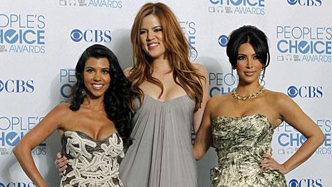 """Kardashians geben zu: """"Wir sehen aus wie Transen!"""" (Bild: AP)"""