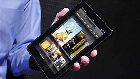 Kindle Fire mit zehn Zoll angeblich bereits in Auftrag (Bild: AP)