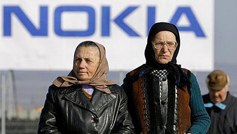 Rumänien will von Nokia Staatshilfen zurückhaben (Bild: AP)