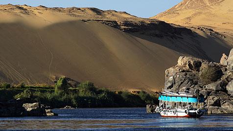Segeln auf dem Nil, wie es einst nur die Könige konnten (Bild: thinkstockphotos.de)