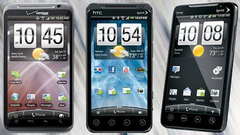 HTC-Handys geben unzählige Daten an Apps weiter (Bild: htc.com)