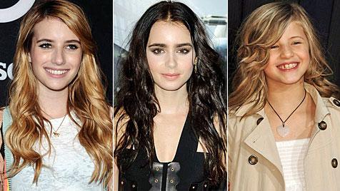 Die Töchter der Stars zeigen ihr Schauspieltalent (Bild: AP EPA)