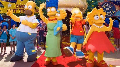 Fans erleichtert: Zukunft der Simpsons gesichert (Bild: AP)