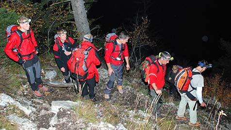 Fünf Einsätze in vier Tagen für Retter am Traunstein in OÖ (Bild: APA/WOLFGANG EBNER)