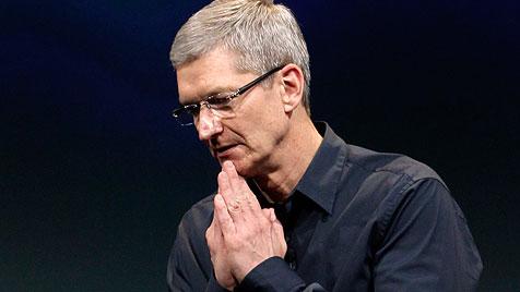 Apple-Chef Cook verdiente 2011 rund 378 Millionen Dollar (Bild: AP)