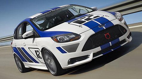 Ford Focus ST auch f�r Papis - und f�r Tourenwagenfahrer (Bild: Ford)